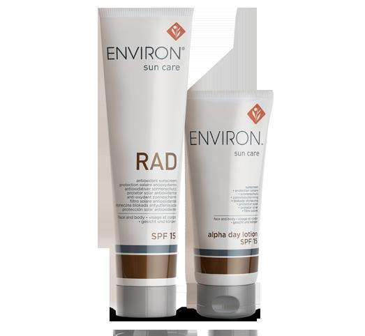 Environ Skin Care RAD Skin care range