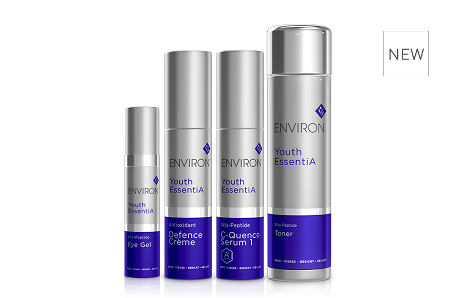 Environ Skin Care | Youth EssentiA Range - New