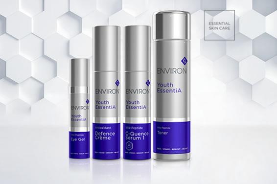 Youth EssentiA Range - Environ Skin Care