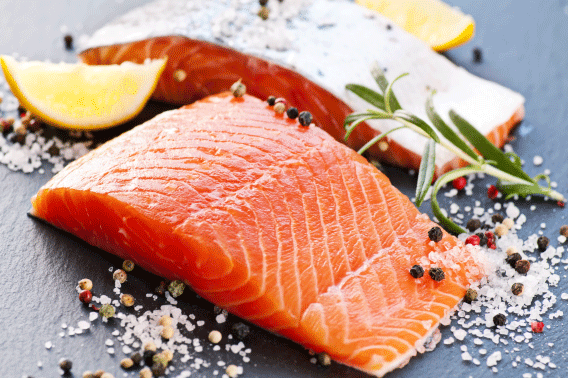 Environ Skin Care | Foods that promote anti-ageing - Salmon