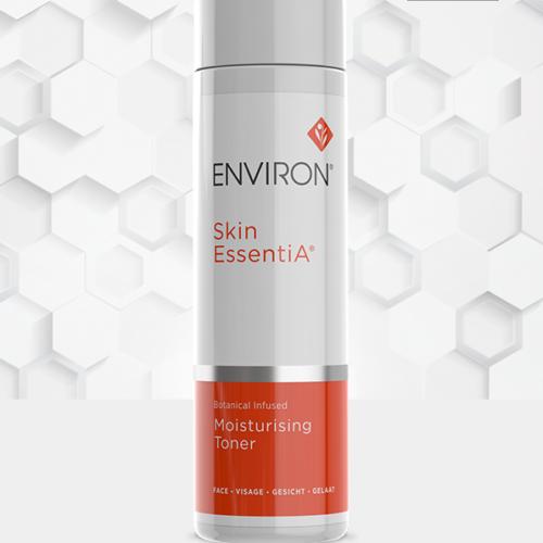 A bottle of Skin EssentiA Botanical Infused Moisturising Toner