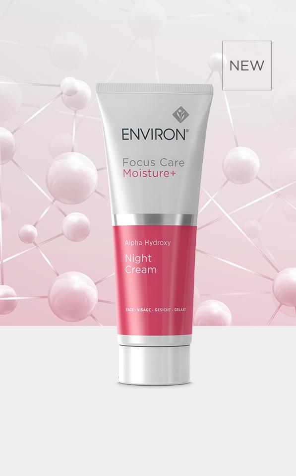 Focus Care Moisture Plus - Alpha Hydroxy Night Cream   Environ Skin Care