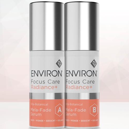 Environ Focus Care Radiance+ Vita-Botanical Mela-Fade Serum A & B