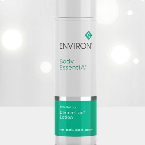 Environ Body EssentiA Alpha Hydroxy Derma-Lac Lotion, sparkly background