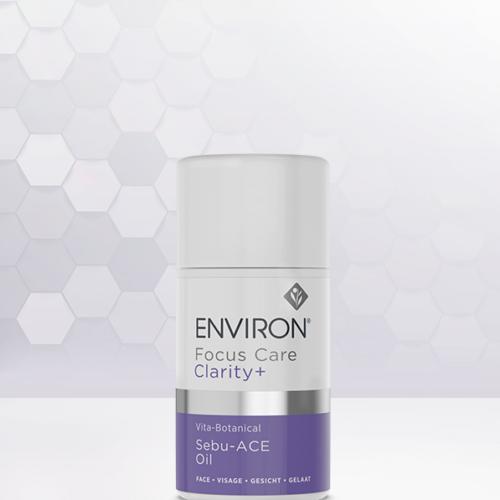 Environ Focus Care Clarity+ Vita-Botanical Sebu- ACE Oil 3D background