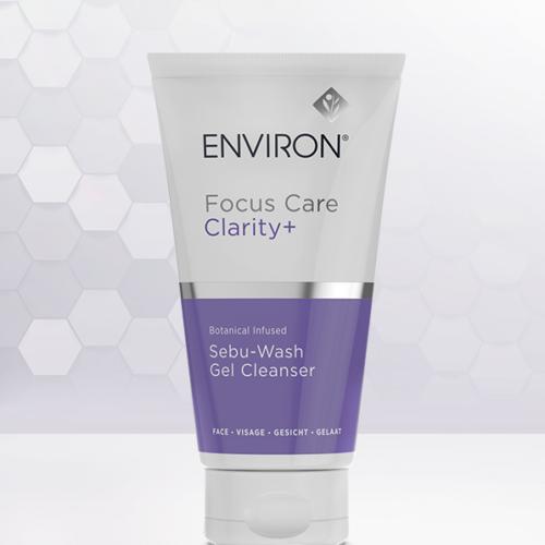Environ's Focus Care Clarity+ Botanical Infused Sebu-Wash Gel Cleanser