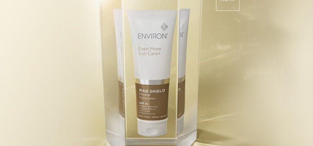 new rad shield® mineral sunscreen spf 15