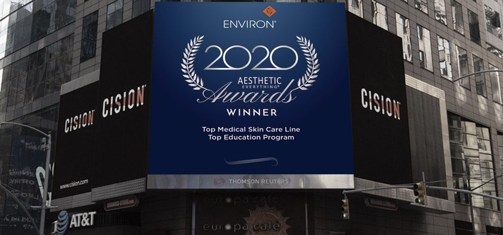 Environ time square top medical company awards